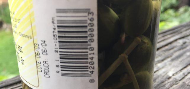 Verfallsdatum von Lebensmitteln